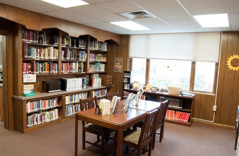 Bixler Library and media center