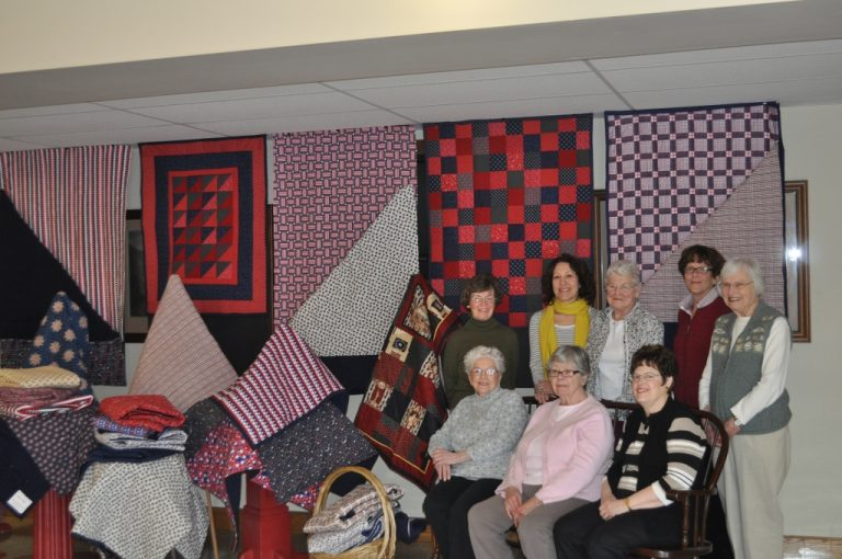Faith Quilters and quilts