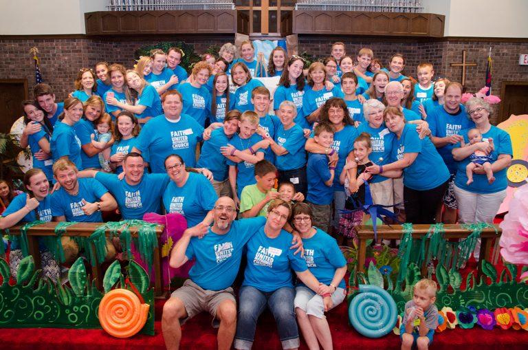 Faith United volunteers