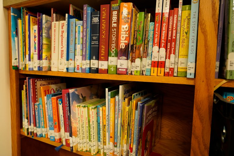 religious books in library