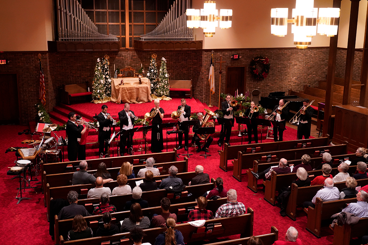Burning River Brass Band concert