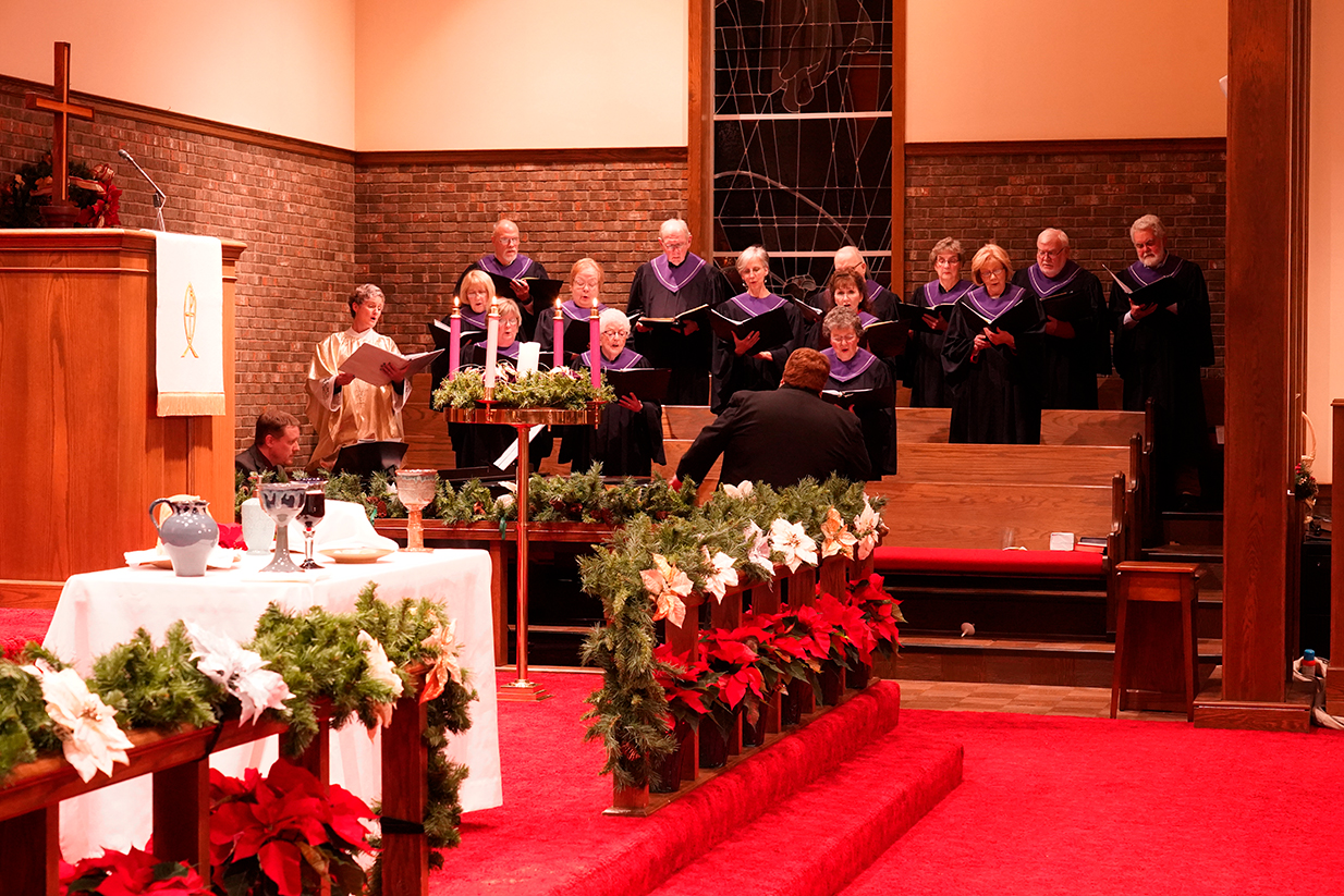 Christmas Eve 2019 choir