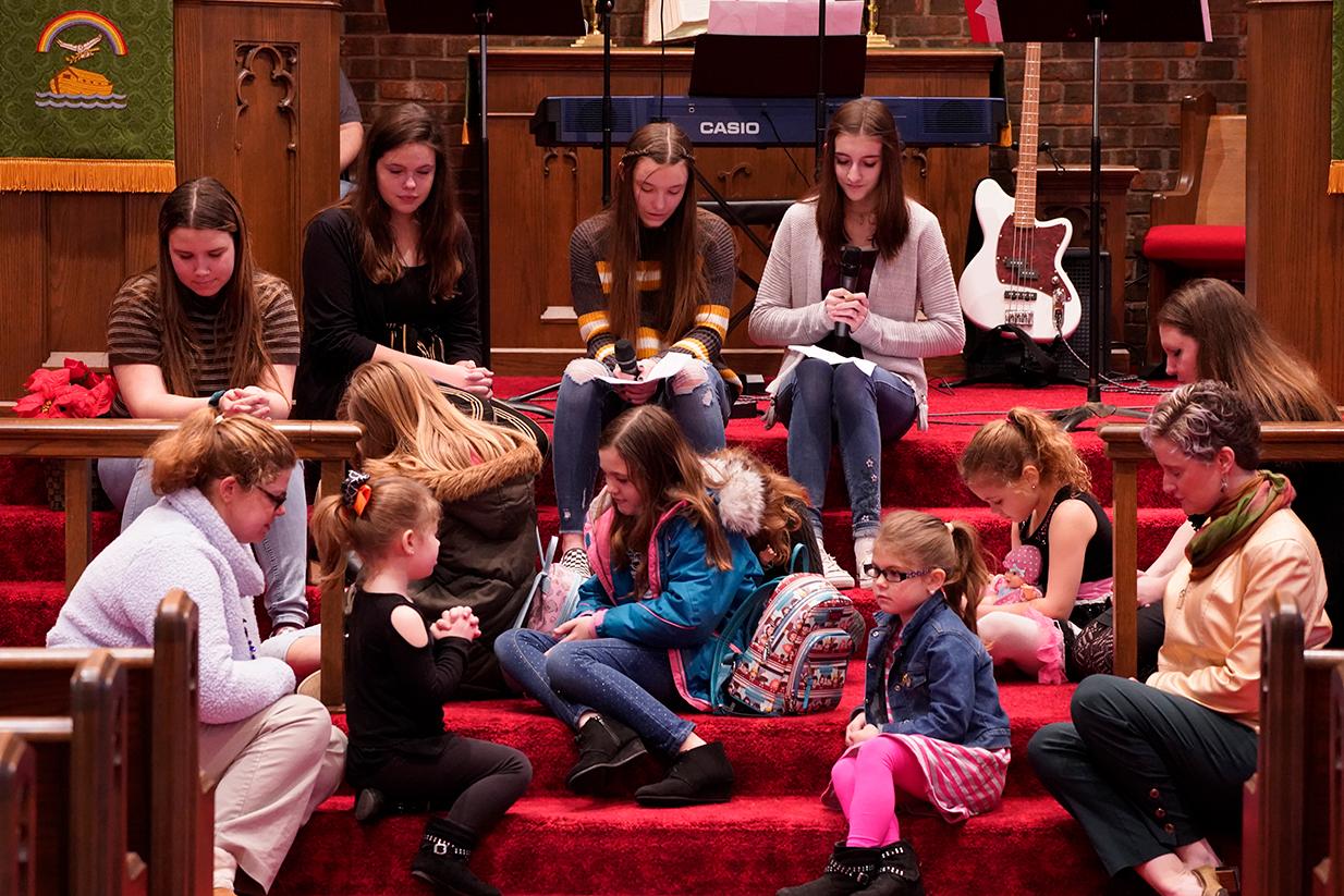 Youth Sunday children prayer