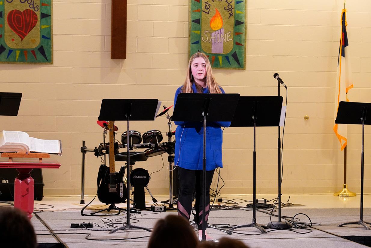 Youth Sunday sermon
