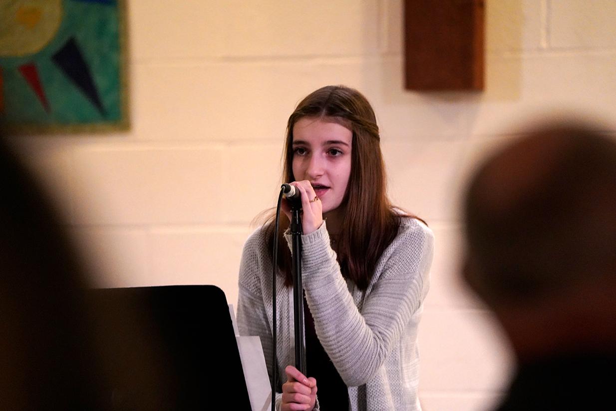Youth Sunday singing