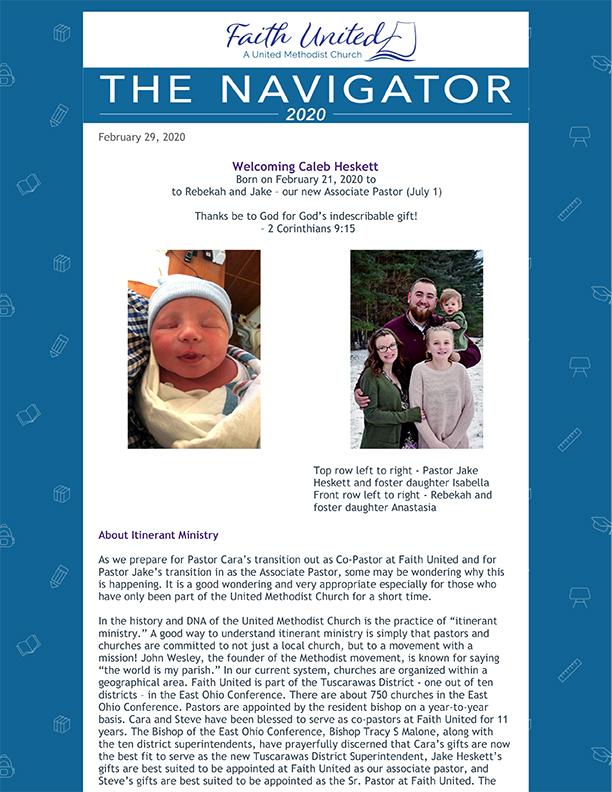 The Navigator newsletter