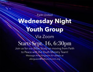 Wednesday Night Youth on Zoom