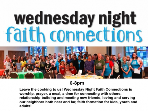 Wednesday Faith Connections